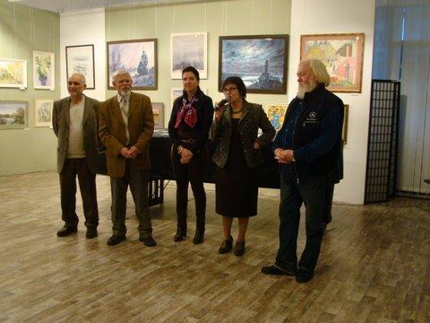 осенняя выставка акваживописи на каширке 003